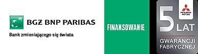 Finansowanie BNP Paribas \ Space Star\ 5 lat gwarancji